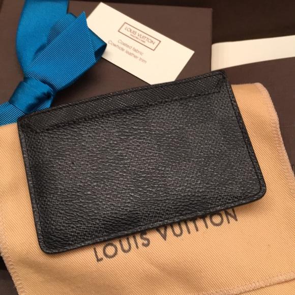 618173da6c8d Louis Vuitton Accessories - LV N62666 Neo Porte Cartes Damier Graphite  Canvas